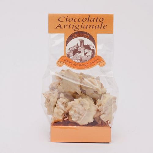 Confezione di Rocher ricoperti di cioccolato bianco